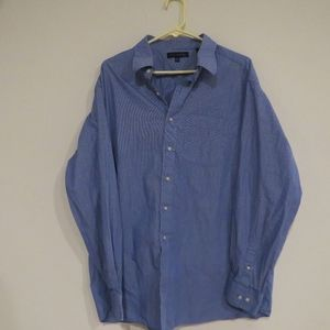 Tommy Hilfiger blue long sleeve button up XXL